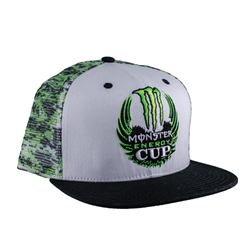 Monster Energy Mesh Camo Cap