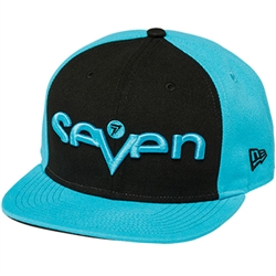 Seven Brand Hat - Black/Turquoise