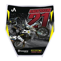 Jason Anderson Number Plate