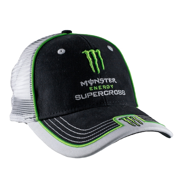 80da9bcf5d Monster Energy Supercross Mesh Back Cap
