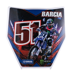 Barcia Number Plate