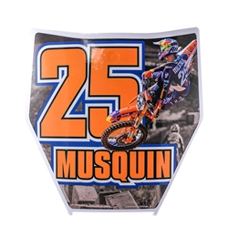 Marvin Musquin Number Plate