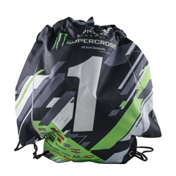 Monster Energy Supercross Jersey Drawstring Bag