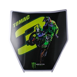 Eli Tomac Number Plate