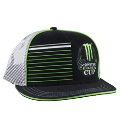 Monster Energy Supercross Cup Bars Cap With Mesh Back