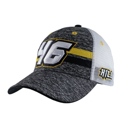 Justin Hill Numer 46 Black and Yellow Cap