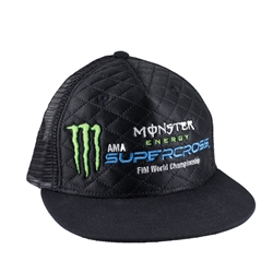 Monster Energy Supercross Quilted Hat