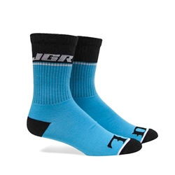 Fuel JGR Crew Blue Socks