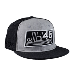 Justin Hill Youth Number 46 Black Cap