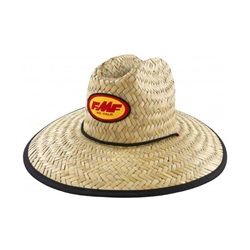 FMF Don Guard Straw Track Hat Natural