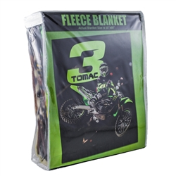 Eli Tomac Supercross Fleece Blanket