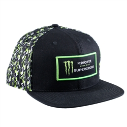 Monster Energy Supercross Mosaic Cap