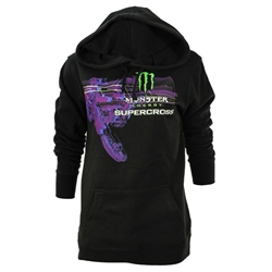 Supercross Rider Ladies Hoodie
