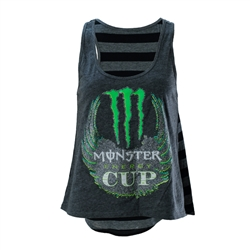 Monster Energy Cup Glitter Tank