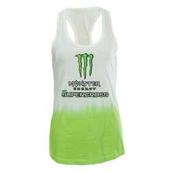 Ladies Monster Energy Supercross Dip Dye Tank
