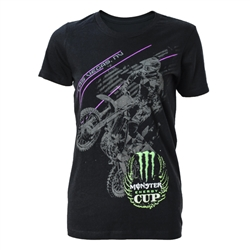 Ladies Monster Energy Cup Rider Tee