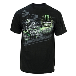 Monster Energy Cup Enlarged Shadow Rider Tee