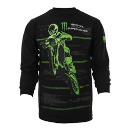 Monster Energy Supercross Star Long Sleeve Tee