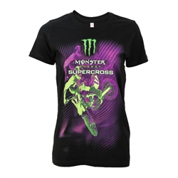 Supercross 2017 Fade Ladies Tee