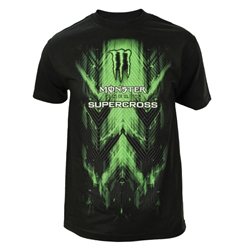 Supercross Matrix Tee