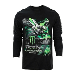 Monster Energy Supercross Long Sleeve Rider Tee