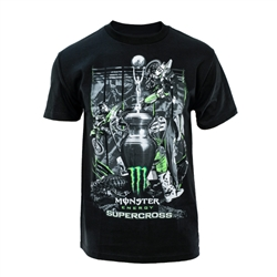 Supercross 2018 Series Black Tee