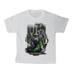 Supercross 2018 Series White Youth Tee