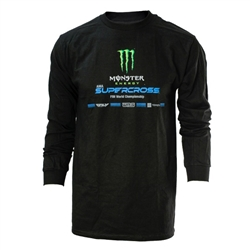Monster Engery and SX Black Long Sleeve