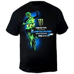 Monster Energy Supercross Front Back Tee