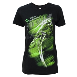 Supercross Finals Blurr Ladies Tee