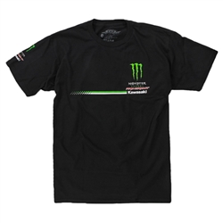 Pro Circuit Monster Energy Team Full Logo Tee Black
