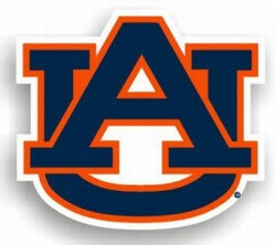 AUBURN TIGERS CAR MAGNETS 6 COUNT