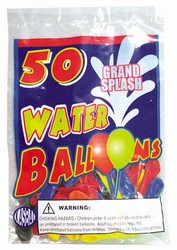 WHOLESALE WATER BALLOONS 50 PACK