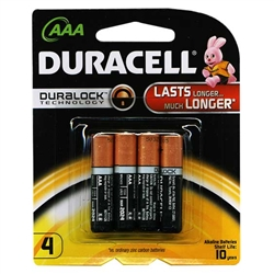 Duracell Coppertop AAA 4 Batteries 18 Count