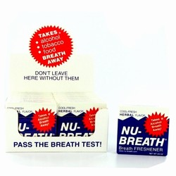 Nu-Breath Herbal Breath Fresheners 12 Count