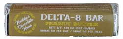 Buddy's Chocolate Haus Delta 8 Edibles Chocolate Bar 300mg D8 per Bar - Peanut Butter