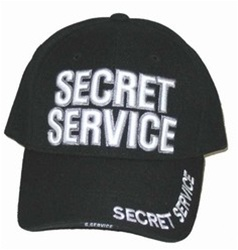SECRET SERVICE EMBROIDERED BASEBALL STYLE CAP