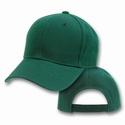 PLAIN BASEBALL CAPS 12 COUNT