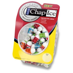 CHAP ICE MINI LIP BALM ASSORTED FLAVORS 100 COUNT