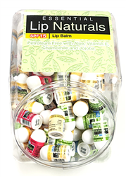 Lip Naturals Mini Lip Balm Assorted Flavors 100 Count