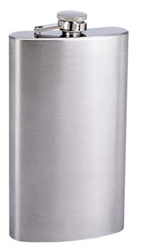 STAINLESS STEEL PLAIN FLASKS