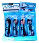 iLights Reading Glasses with LED Lights 12 Count