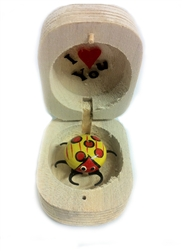 LADYBUG IN WOODEN BOX 10 COUNT
