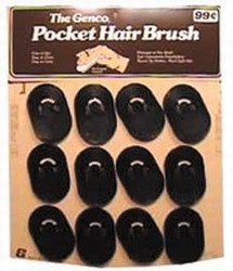 POCKET HAIR BRUSH
