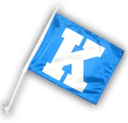 KENTUCKY WILDCATS CAR FLAGS 6 COUNT