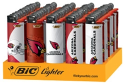 ARIZONA CARDINALS BIC LIGHTERS 50 COUNT