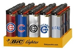 CHICAGO CUBS BIC LIGHTERS 50 COUNT