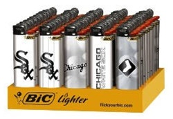 CHICAGO WHITE SOX BIC LIGHTERS 50 COUNT