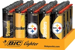 PITTSBURGH STEELERS BIC LIGHTERS 50 COUNT