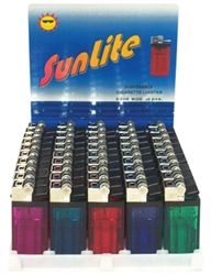 WIDE DISPOSABLE LIGHTERS 50 COUNT